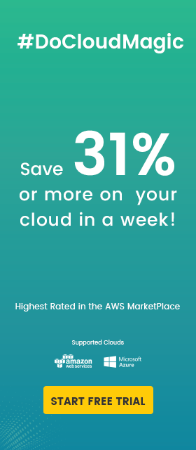 Guaranteed AWS cost saving